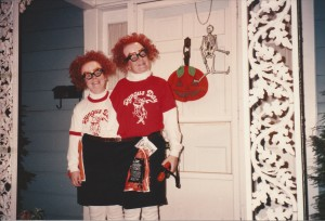 Ross and David Halloween 1989